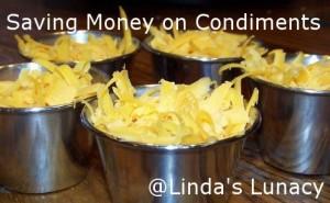 saving money on condiments