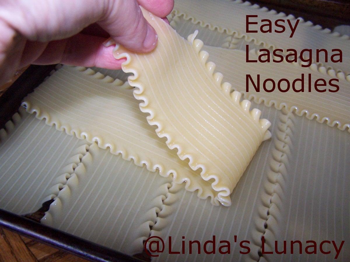 easy lasagna noodles