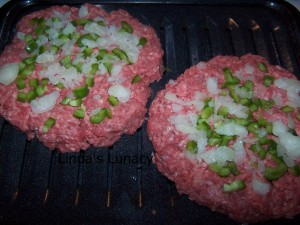 hamburger onions green peppers