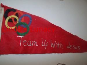 Olympics flag decoration