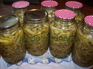 home canned green beans