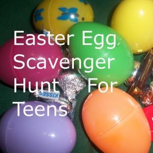 Easter Egg Scavenger Hunt for Teens