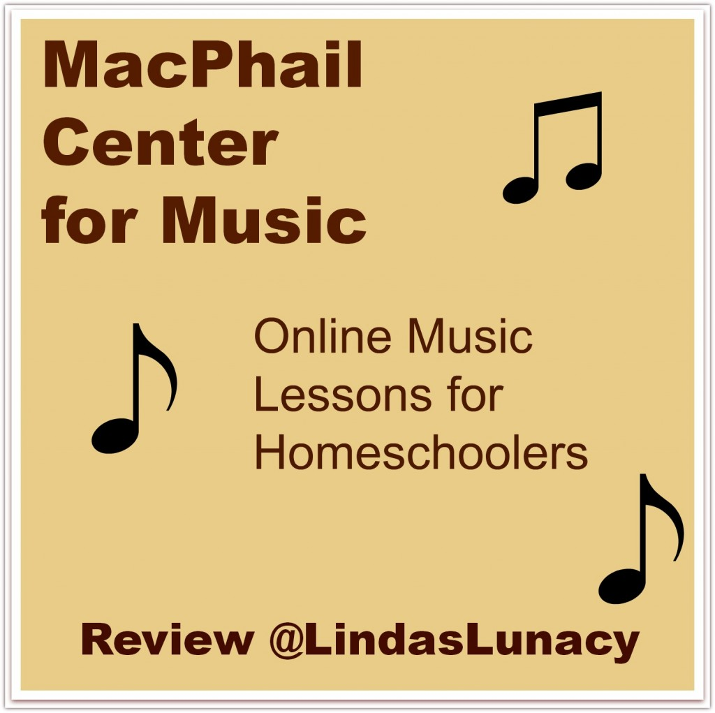 MacPhail Center for Music - Online Music Lessons for Homeschoolers - Review at Linda's Lunacy