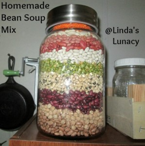 Homemade Bean Soup Mix
