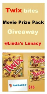 Twix bites Movie Prize Pack Giveaway