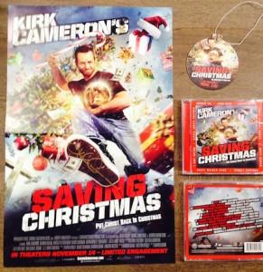 Saving Christmas Review & Giveaway