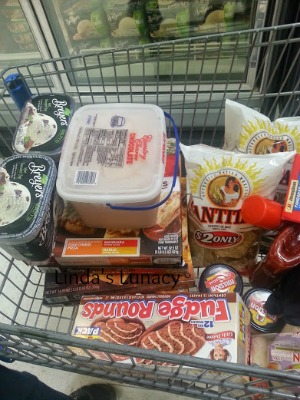 grocery shopping with husband