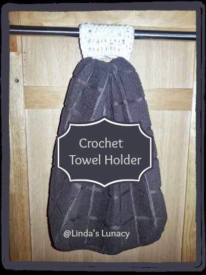 Crochet Towel Holder at Linda's Lunacy