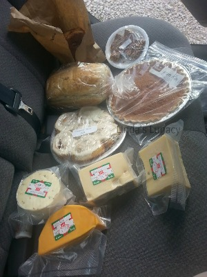 Amish bake sale