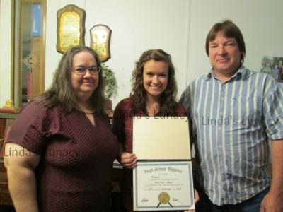 Abby Homeschool Graduation Parents