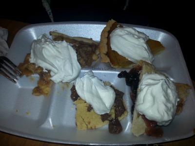 Thanksgiving Pie Plate