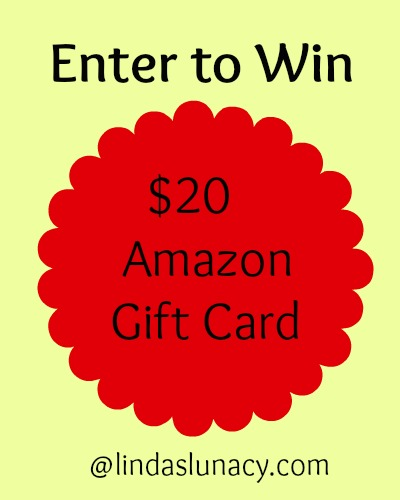 $20 Amazon Gift Card Giveaway