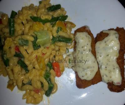 Fish Filet, Veggie Mac & Cheese