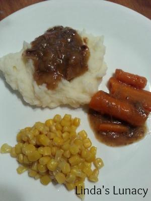 Venison Gravy mashed potatoes