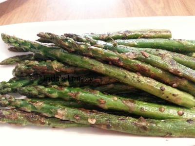 pan roasted asparagus