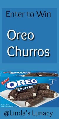 Oreo Churros Giveaway