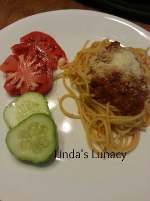 spaghetti venison