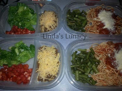 Homemade TV Dinners