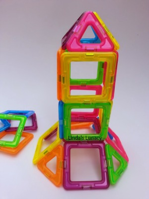 Neon Magformers Review Giveaway