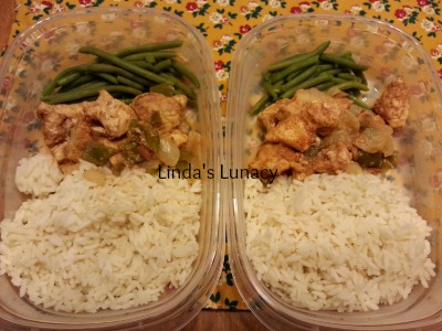 Chicken Fajita Bake tv dinners