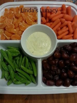 fruit veggie platter