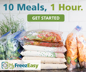 10 meals in 1 hour with my freezeasy