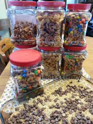 trail mix chex mix homemade no bake granola bars