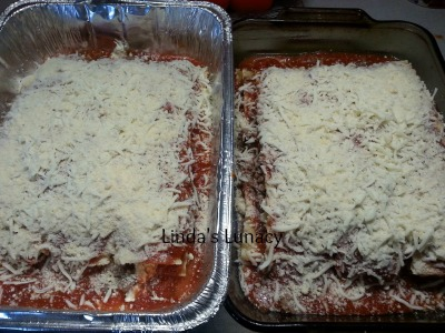 lasagna for freezer