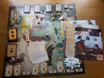 Chara Games Commissioned Board Game Review
