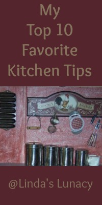 My Top 10 Favorite Kitchen Tips