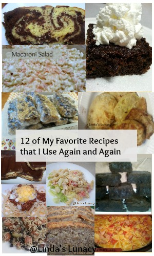 12 of My Favorite Recipes that I Use Again and Again