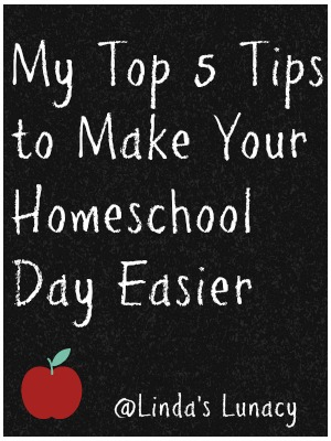 My Top 5 Tips to Make Your Homeschool Day Easier