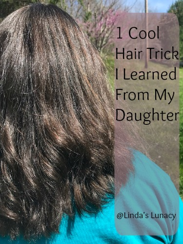 1 Cool Hair Trick I Learned From My Daughter