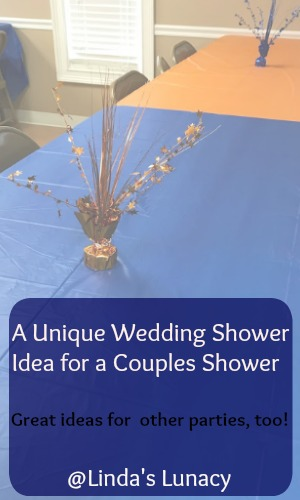 A Unique Wedding Shower Idea