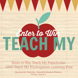 Teach My Back to School giveaway