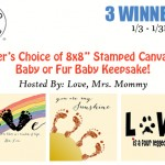 Stamped Canvas Giveaway