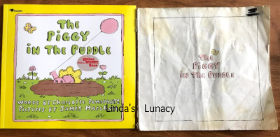 The Piggy in the Puddle book