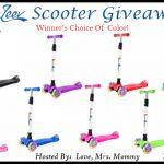 BeLeev Scooter Giveaway