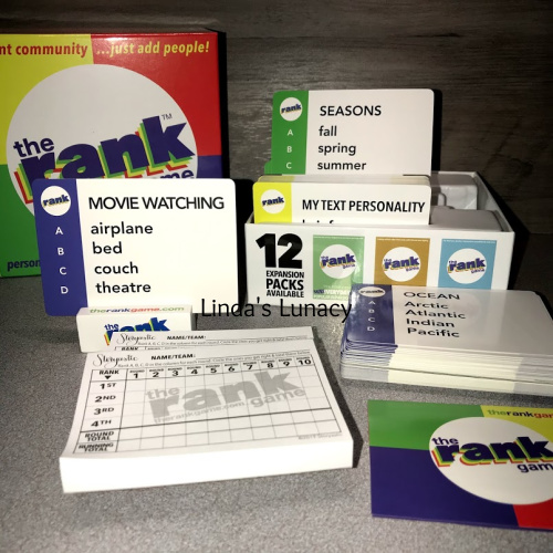 The Rank Game Review & Giveaway