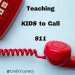 Teaching Kids to Call 911