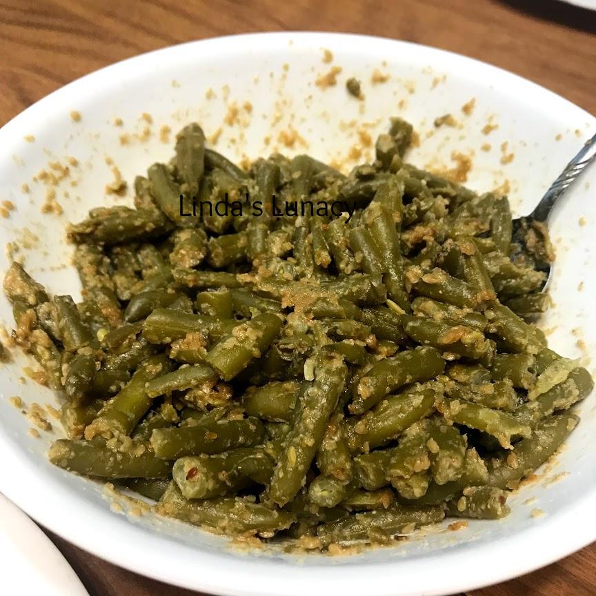 Green Bean Gomaae