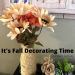 It's Fall Decorating Time